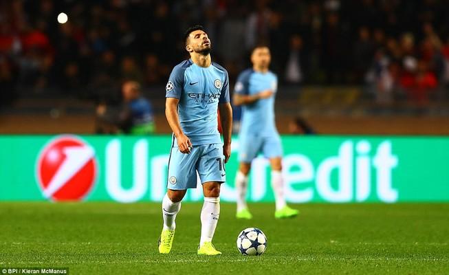 Thua bạc nhược Monaco, Man City bị loại cay đắng