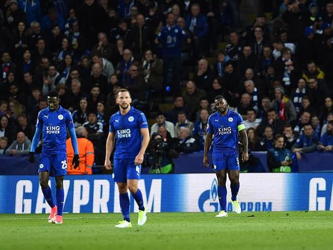 Leicester City kết thúc câu chuyện cổ tích