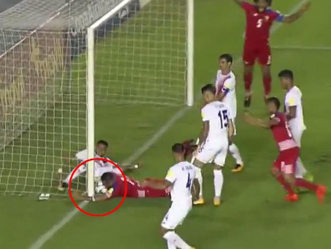 Mất vé World Cup,Mỹ đòi kiện vì bàn thắng ma của Panama