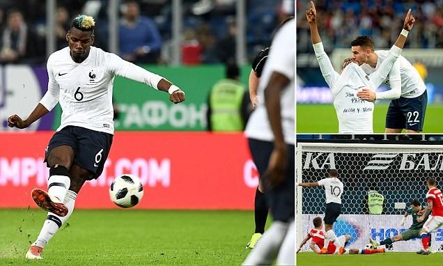 Sao MU, PSG rực sáng, Pháp hạ gục chủ nhà World Cup