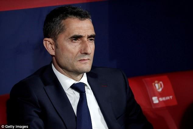 Bi kịch của Valverde,giúp Barca giành cú đúp vẫn bị xem thường