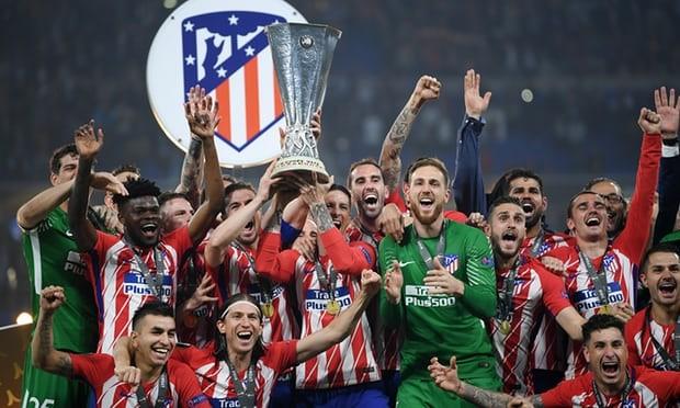 Griezmann rực sáng, Atletico Madrid vô địch Europa League