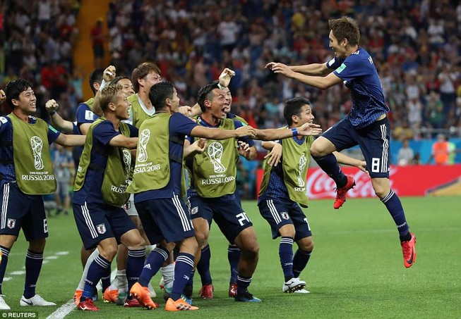 Tuyển Bỉ ngược dòng ngoạn mục nhờ Nhật Bản chơi… Fair Play?