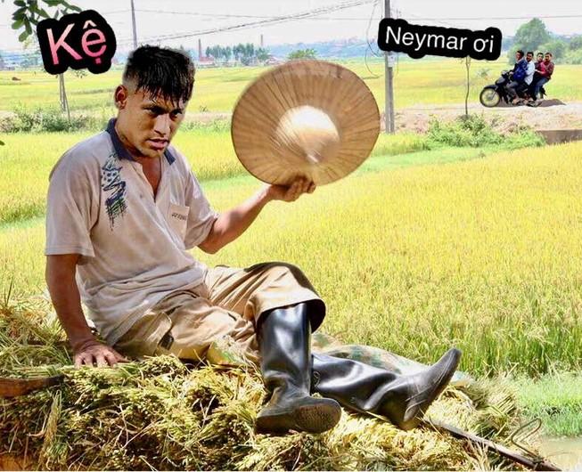Neymar bị các sao bóng đá từ mặt