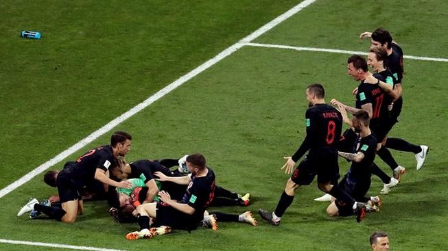 'Đấu súng' nghẹt thở, Croatia loại chủ nhà Nga khỏi World Cup