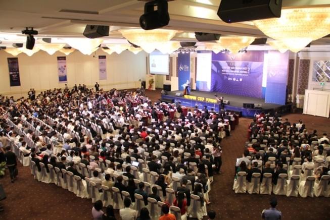 1.000 sếp doanh nghiệp hội tụ tại 'Viet Nam CEO Forum 2018'