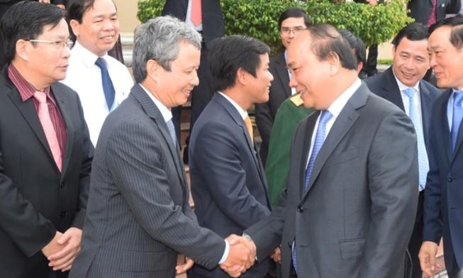 Thủ tướng thăm và chúc Tết tỉnh Thừa Thiên - Huế