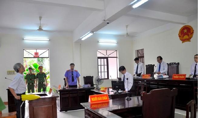 Câu hỏi đớn đau sau phiên tòa phúc thẩm Nguyễn Khắc Thủy