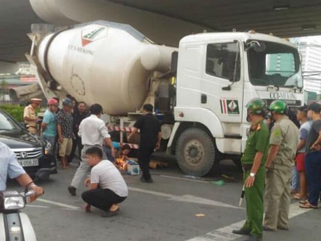 Cụ ông chết thảm tại 'điểm đen' giao thông ở Đồng Nai
