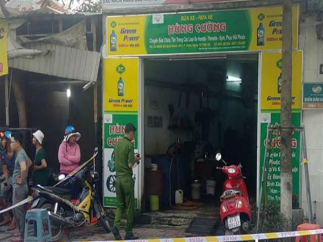 Bình Dương: Chủ quán hủ tiếu đâm chết chủ tiệm sửa xe