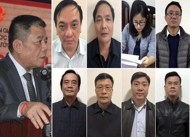 Chưa đầy 2 tháng, 9 cựu lãnh đạo và cán bộ BIDV bị khởi tố