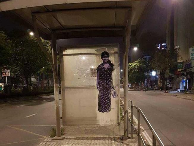 Nhà chờ xe buýt kiểu 'nhát ma'