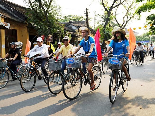 Xây dựng Hội An là TP đi lại bằng xe đạp