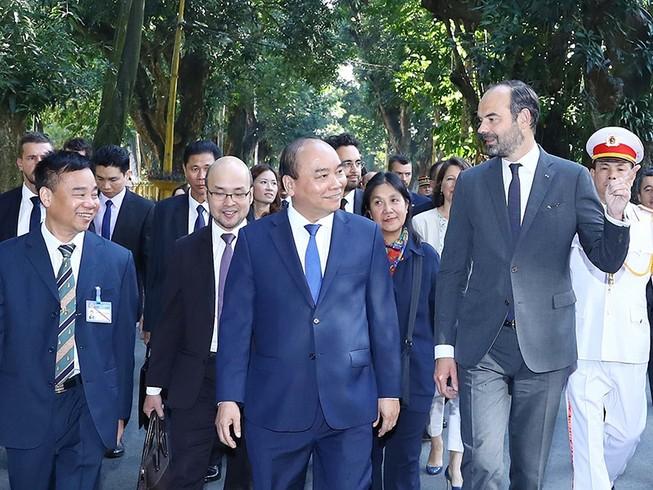 Thủ tướng Việt Nam, Pháp nhất trí thúc đẩy hợp tác kinh tế