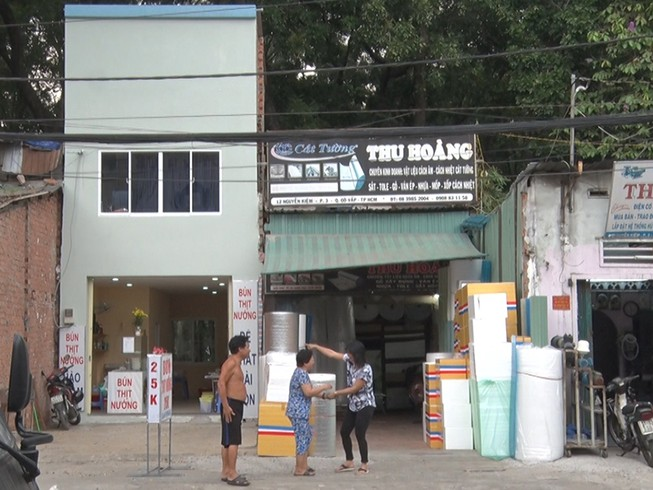 Nhiều nhà bị giải tỏa khi làm cầu vượt ở Gò Vấp
