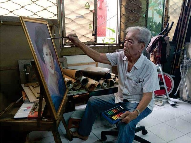 'Tôi không bán tranh chân dung nghệ sĩ'