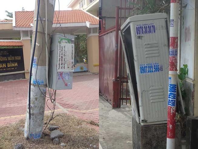 """Những tủ điện """"nguy hiểm chết người""""!"""