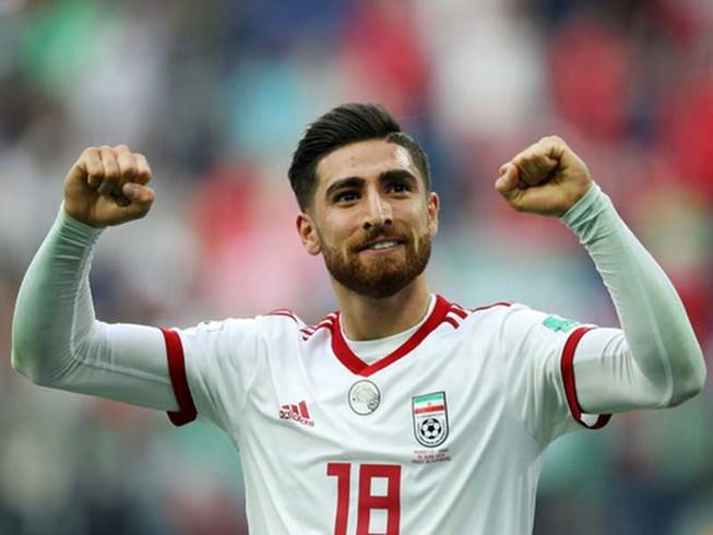 Iran đưa vua phá lưới giải Hà Lan đá với Việt Nam