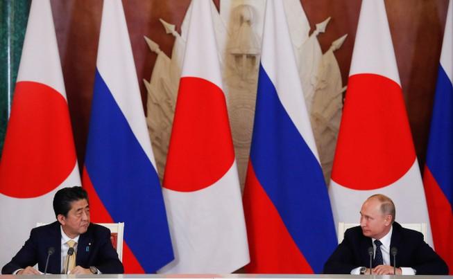 """Nga-Nhật vẫn còn """"xa nhau"""" về vấn đề đảo tranh chấp. Ảnh: BUSINESS INSIDER"""