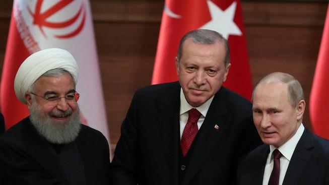 Thổ Nhĩ Kỳ muốn phối hợp với Nga, Iran kiểm soát Syria