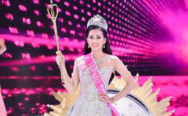 Cô gái Quảng Nam Trần Tiểu Vy đăng quang hoa hậu Việt Nam 2018