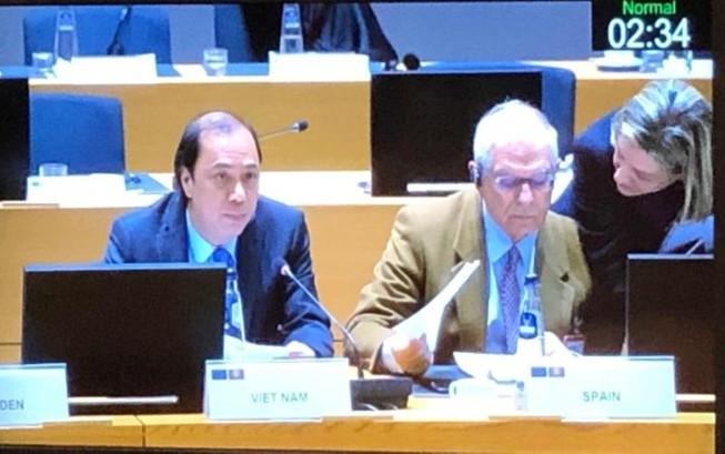 Vấn đề biển Đông được thảo luận ở Hội nghị Bộ trưởng ASEAN