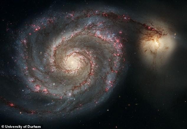 Hệ Mặt trời có thể bị dịch chuyển bởi một thiên hà