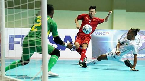 Xem Việt Nam vùi dập Đông Timor 8-1, quyết chiến Thái Lan