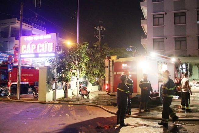 Hỏa hoạn, khoa cấp cứu bệnh viện hoảng hốt di tản bệnh nhân