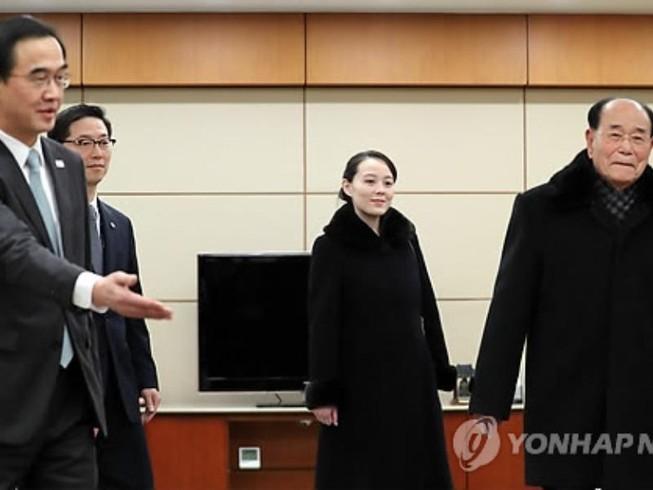 Phái đoàn cấp cao Triều Tiên đã có mặt tại Hàn Quốc