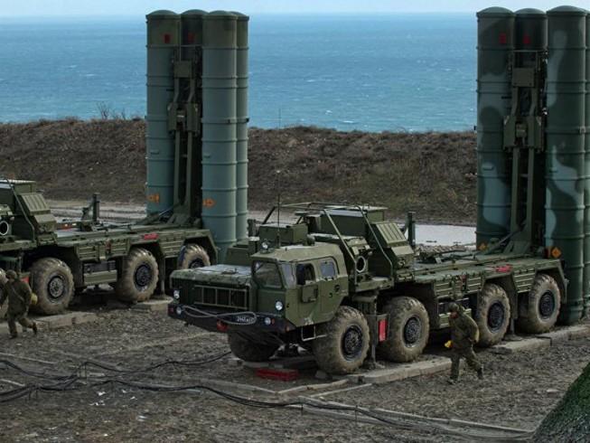 Nga tập trận bắn đạn thật với S-400 tại Crimea