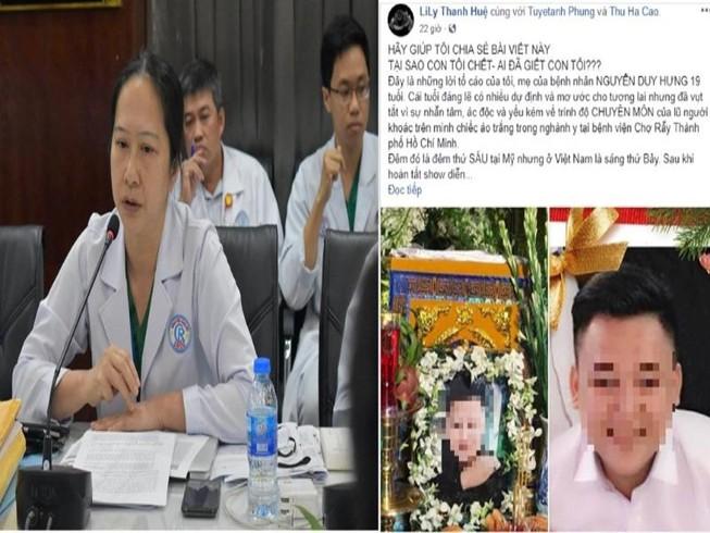 BV Chợ Rẫy nói về cái chết của thanh niên 19 tuổi