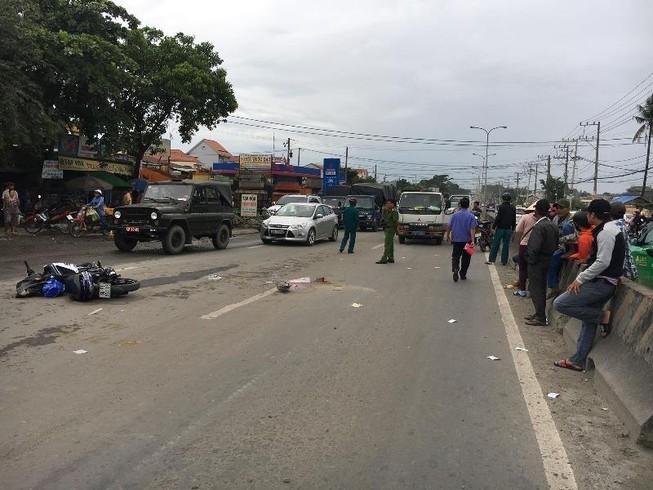 Nam sinh viên tử vong trên đường đến trường ngày đầu năm