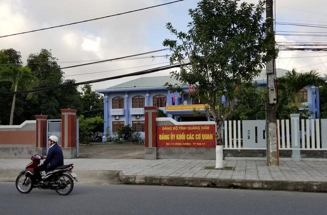 Kỷ luật Phó bí thư Đảng ủy khối các cơ quan Quảng Nam