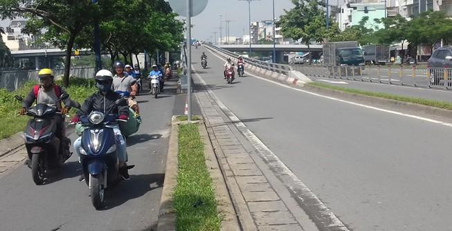 Kết nối các đoạn đường song hành Võ Văn Kiệt