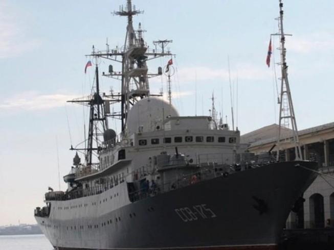 Tàu do thám Nga tiến sát Bờ Đông nước Mỹ