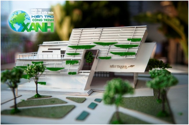 """ĐH Bách khoa đạt giải nhất cuộc thi """"Kiến tạo công trình xanh"""""""