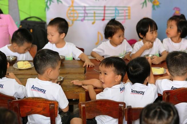 Amway: Chiến dịch giúp giảm tỉ lệ trẻ suy dinh dưỡng