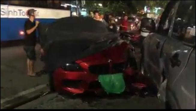 Siêu xe gây tai nạn rồi che biển số lại, có phạm luật?