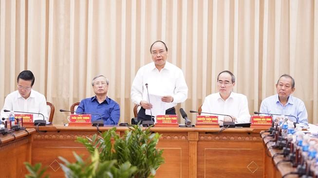Thủ tướng: TP.HCM cần đi tiên phong trong nhiều lĩnh vực