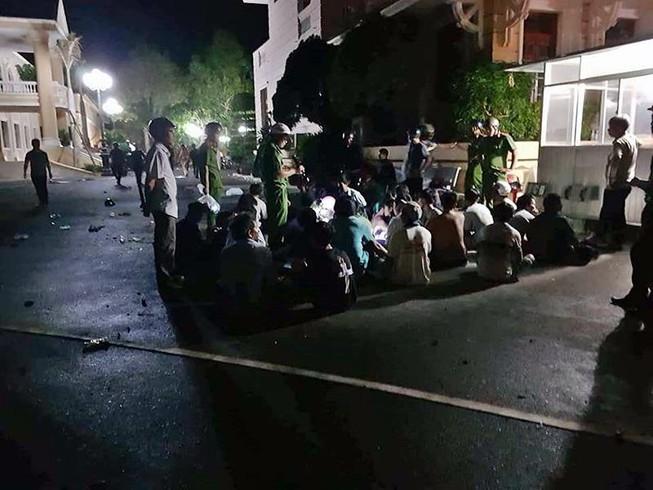 Những người ném đá, bom xăng tại Bình Thuận khai gì?