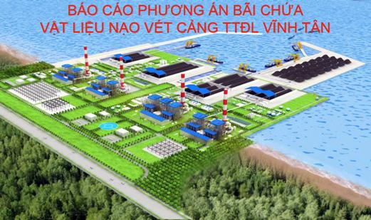 Sẽ không nhận chìm 5,5 triệu khối vật chất ở Vĩnh Tân