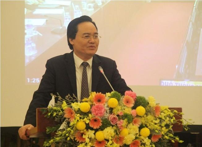 Bộ trưởng Nhạ: 'Thành bại của chương trình phụ thuộc vào GV'