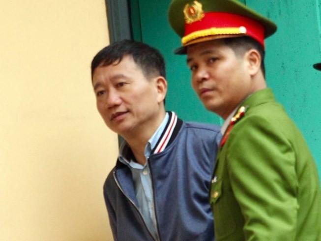Bị cáo Trịnh Xuân Thanh. Ảnh: TUYẾN PHAN
