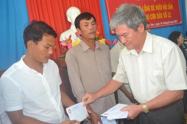Lý Sơn: Hỗ trợ 171 triệu đồng cho các chủ lồng bè
