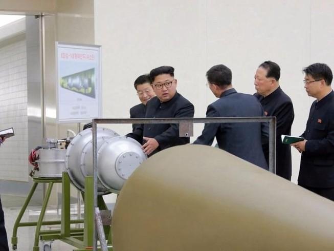Triều Tiên tuyên bố thử thành công siêu bom khinh khí