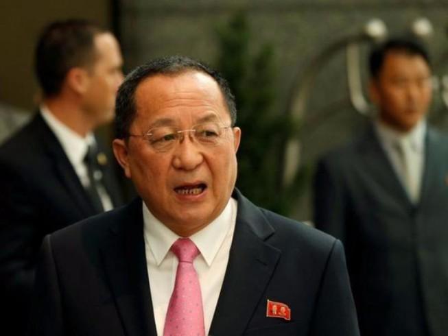 Ngoại trưởng Triều Tiên tố Mỹ châm ngòi chiến tranh