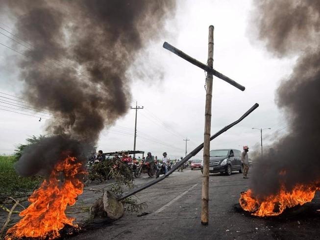 Cảnh sát Honduras chống lệnh chính phủ