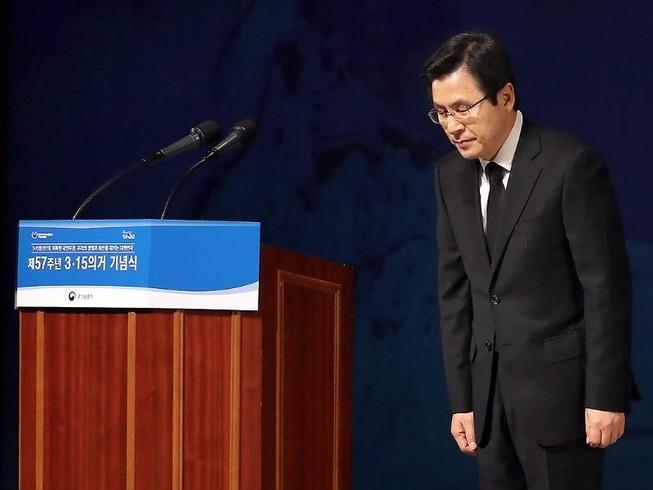 Quyền tổng thống Hàn Quốc tuyên bố không tranh cử