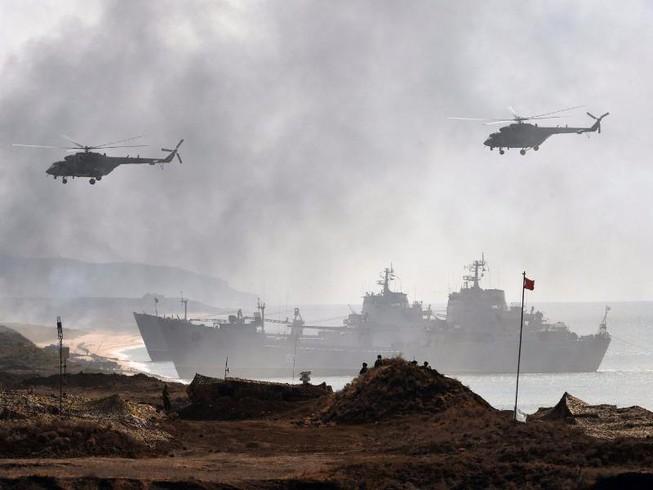 Nga điều 2.500 binh sĩ tập trận quy mô lớn ở Crimea